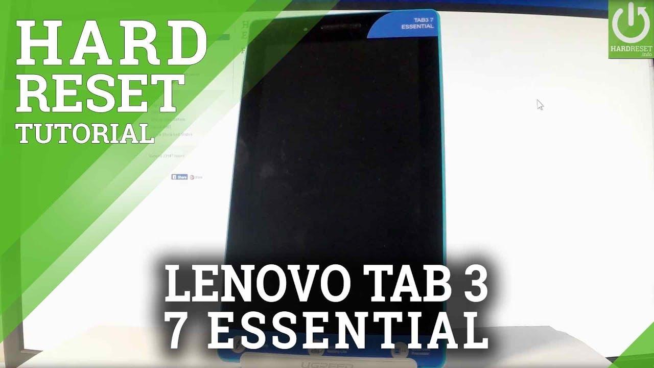 Hard Reset LENOVO TB3-710F Tab3 7 Essential - HardReset info