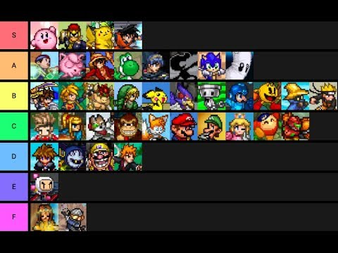 Super Smash Flash 2 Tier List 2020.Super Smash Flash 2 Tier List But It S Based On Their Kirby Hats The Red Inkling