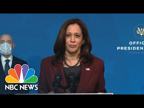 Harris Praises National Security Team That 'Reflects The Best Of Our Nation' | NBC News