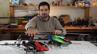 Meglio un Elicottero Flybar o Flybarless?