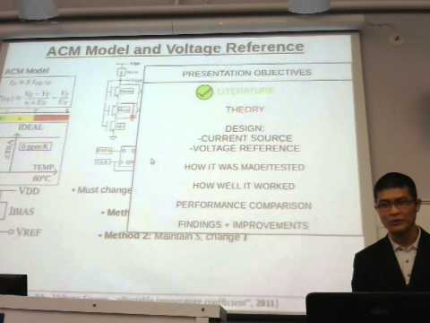 Thesis Defense: Sub-4-nW voltage reference devices with post-fabrication trimming