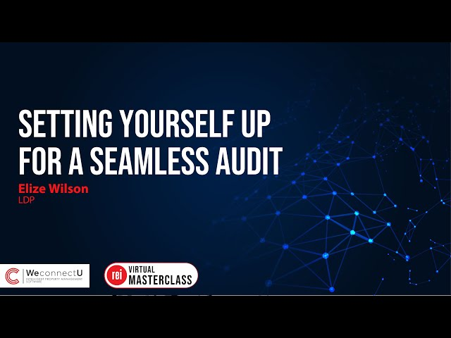 Setting yourself up for a Seamless Audit | The Ultimate Property Management Masterclass