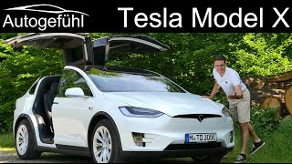 The Tesla Model X FULL REVIEW 100D shows why this is the best car for show-off - Autogefühl