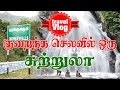 Monkey Falls | Tamil Travel Vlog | Waterfall | Tourist places in Pollachi | Tamil Trip