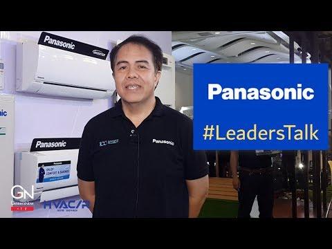 #LeadersTalk With Panasonic Philippines (HVACR Aircon, Chiller, VRF, Split, Window)