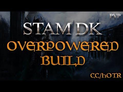 The OVERPOWERED STAM DK BUILD - My SECRET PvP BUILD | Clockwork City / HOTR | DragooX