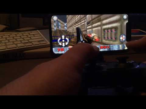 DOOM on iOS 11 using MFi controller - YouTube