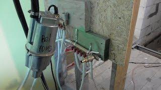 видео Заполнение системы отопления теплоносителем