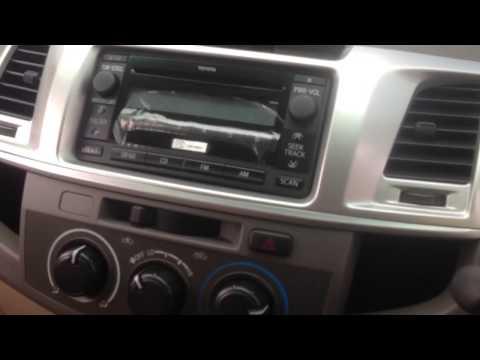 รีวิว 2011 TOYOTA HILUX VIGO CHAMP Double Cab [E] Prerunner VN Turbo 2.5 MT จาก srshowroom.com