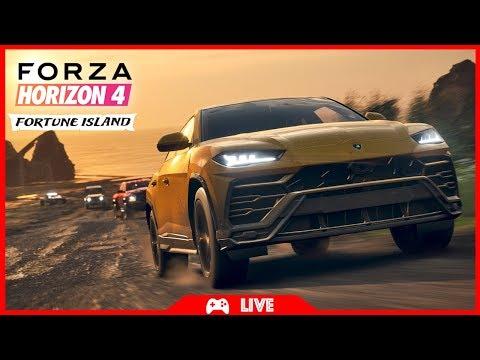 DÉCOUVERTE DE FORTUNE ISLAND - FORZA HORIZON 4 thumbnail