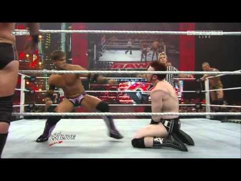 Sheamus John Cena Randy Orton Chris Jericho, Edge vs. W.Barrett D.Otunga H.Slater M.Tarver J.Gabriel