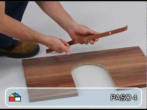 Instrucciones de armado mueble bajo vanitorio 2ptas - Baldas para bajo lavabo ...