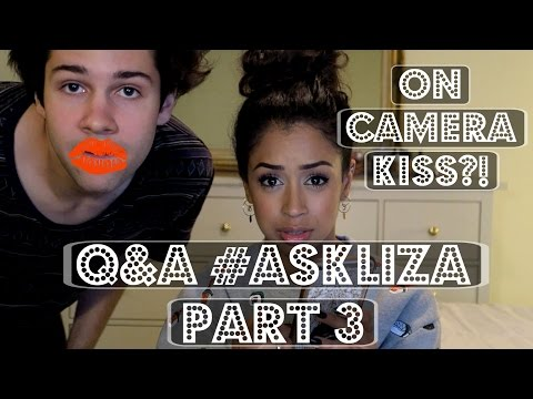KISSING ON CAMERA?!! #AskLiza PART 3 | Lizzza