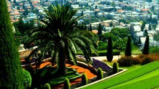 Бахайские сады(Северная часть Израиля, третий по величине в стране город-порт Хайфа. Здесь на склоне горы Кармель располож..., 2015-03-19T23:54:35.000Z)