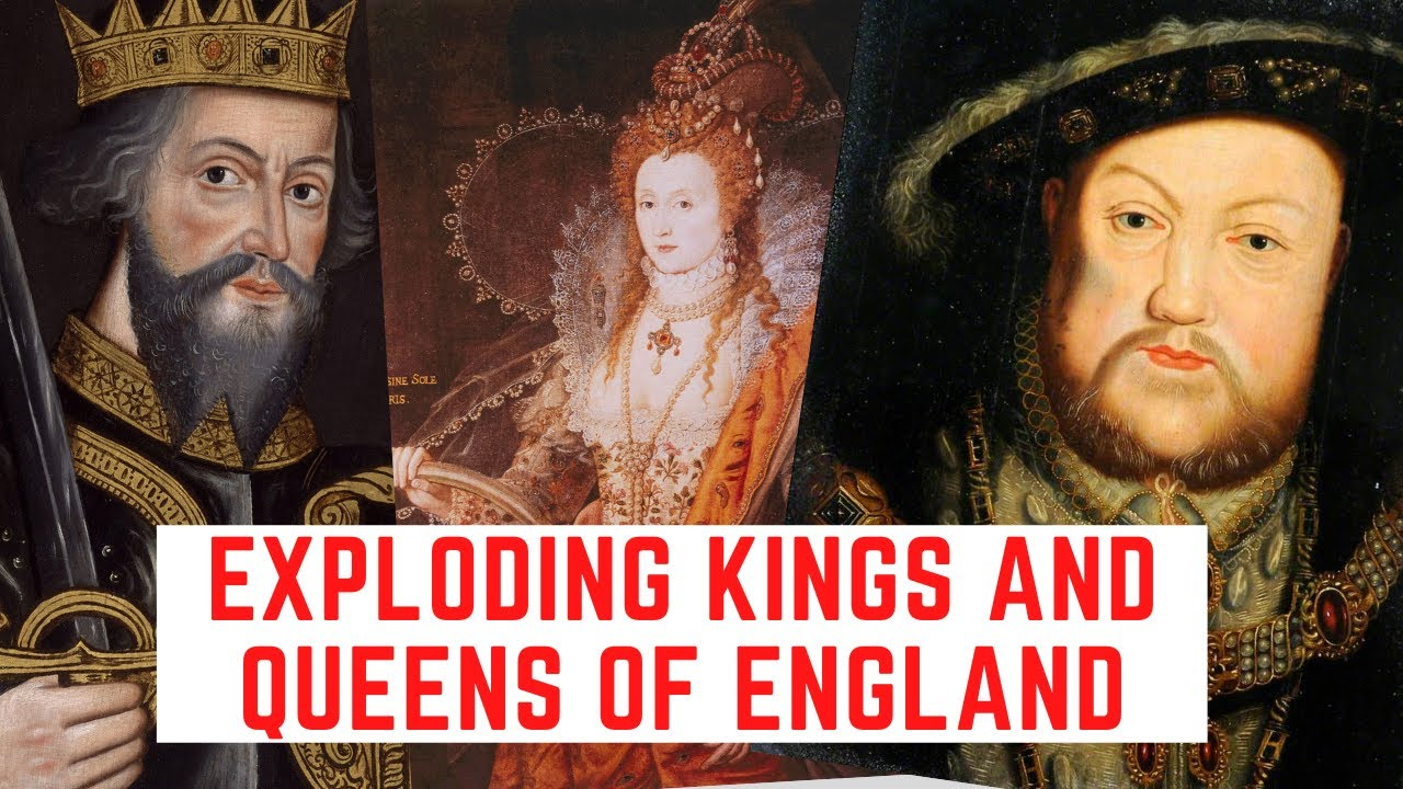 The EXPLODING Kings And Queens Of England!