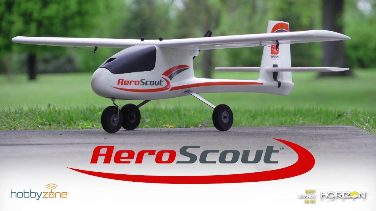 HobbyZone Hatch AeroScout HBZ3802