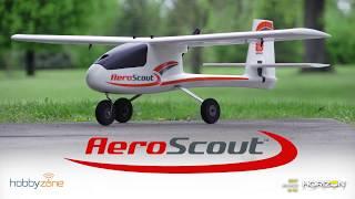 Load Video 2:  HobbyZone AeroScout S 1.1m RTF