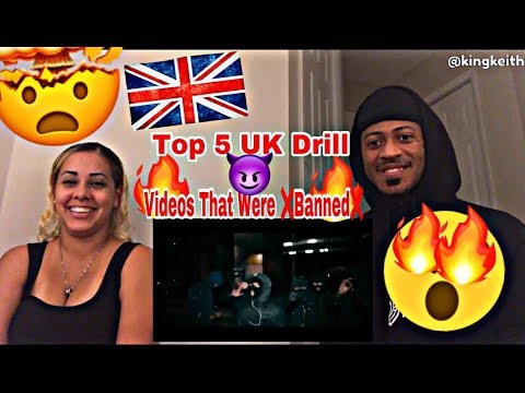 TOP 5 UK DRILL S THAT WERE BANNED 🔥🇬🇧 'UK DRILL' WARNING YOU WON'T BELIEVE MUST WATCH!