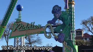 List Of Six Flags Over Texas Rides