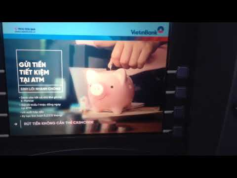 Cách rút tiền tại ATM vietinbank