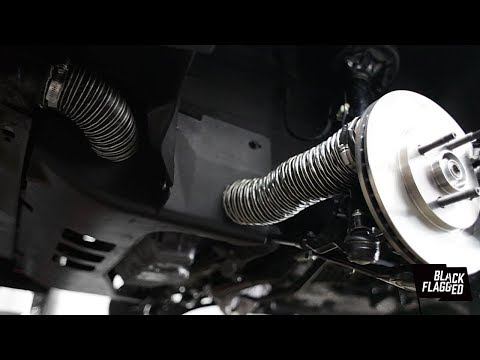 Custom Brake Ducting and Brake Backing Plate Install | vlog 071