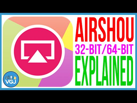 Airshou 32-Bit or 64-Bit Explained and How it Affects You. How to Record Your iPhone or iPad