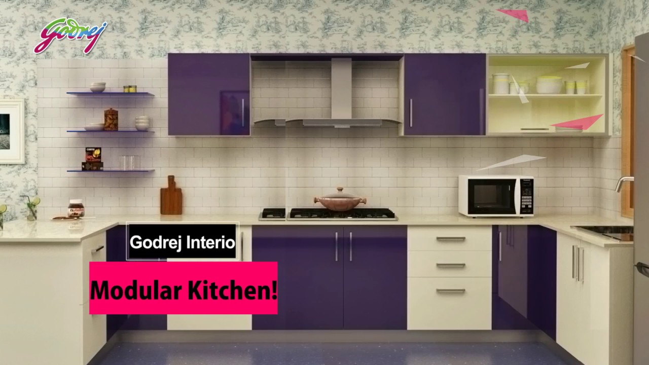 Godrej Modular Kitchen - YouTube
