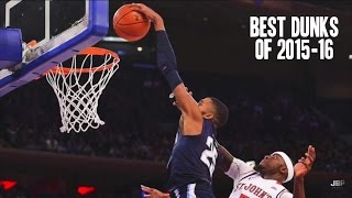 Best dunks of the 2015-16 college basketball season || part i ᴴᴰ