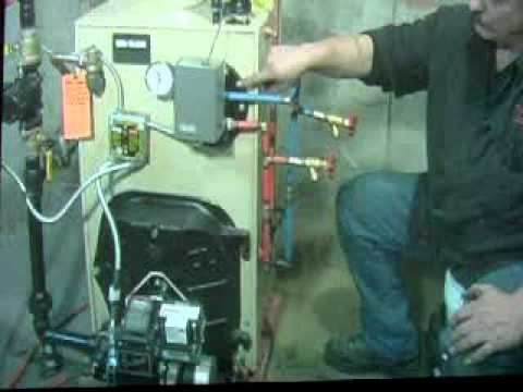 steam boiler hook up