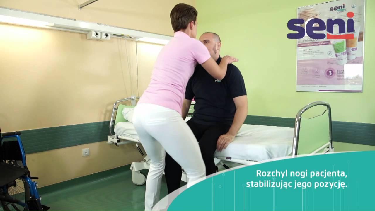 Pl 01 Przemieszczanie Pacjenta Z Leżenia Do Pozycji Siedzącej