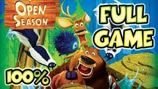Open Season Walkthrough 100% FULL GAME Longplay (X360, Wii, PS2, PC, XBOX)
