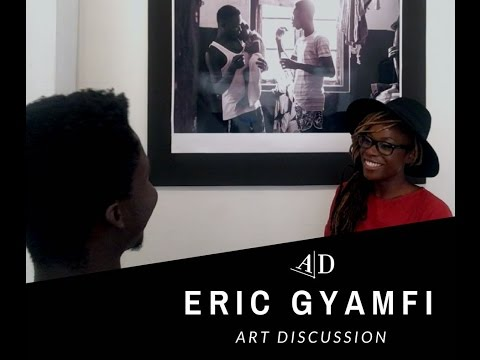 Eric Gyamfi, Art Discussion: In Conversation with Adelaide Damoah.