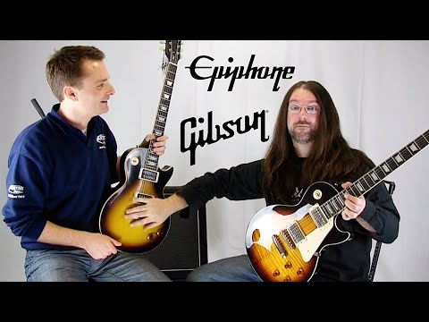 Gibson Vs Epiphone – Guitar Battle: AKA How to be Slash for under £1000 at Andertons