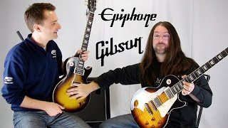 Gibson Vs Epiphone - Guitar Battle: AKA How to be Slash for under £1000 at Andertons