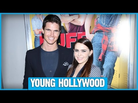 THE DUFF's Mae Whitman & Robbie Amell on Their On-Screen Chemistry! from YouTube · Duration:  5 minutes 23 seconds