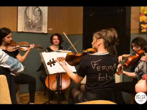 Cover- We found love with Madalina Costin and Femme Quartet