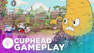 11 Minutes of Cuphead Gameplay