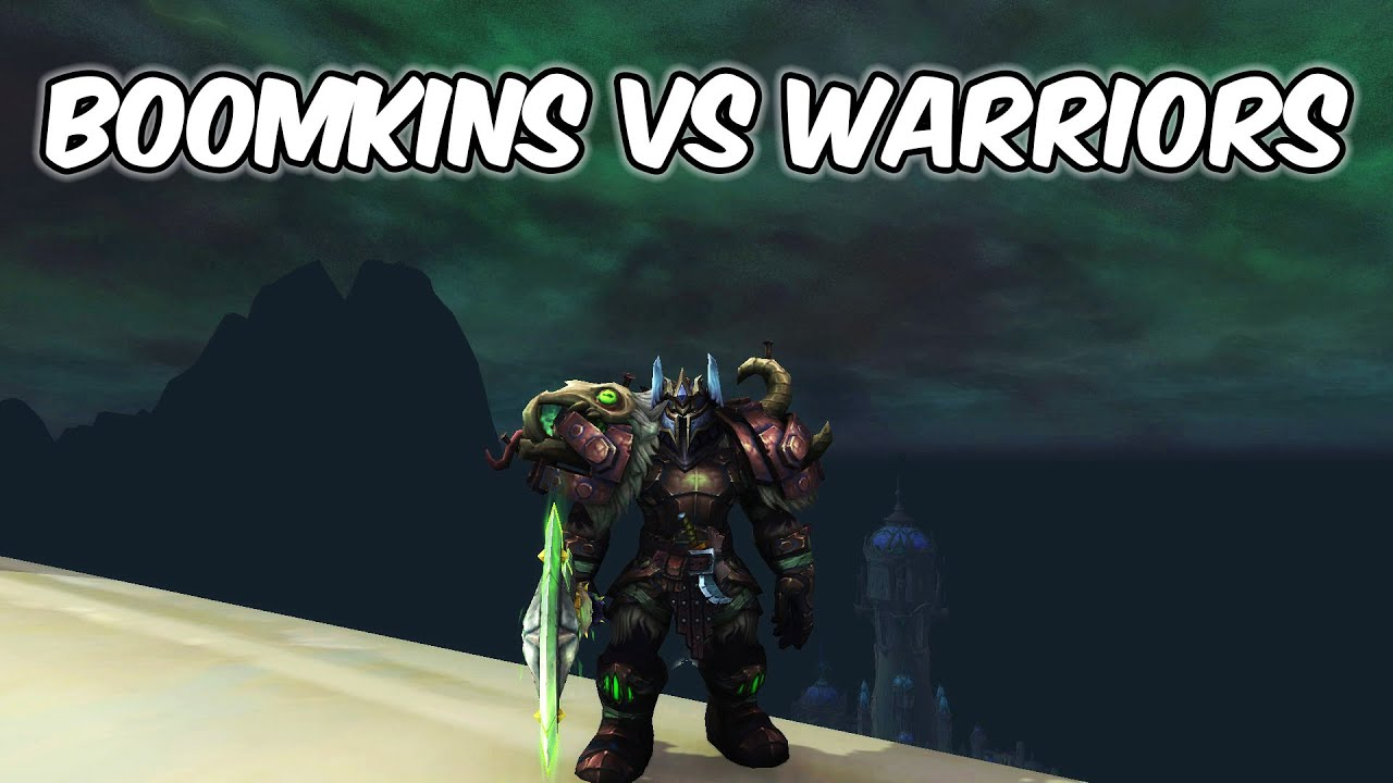 BOOMKINS VS WARRIORS - Arms Warrior PvP - WoW Shadowlands 9.0.2