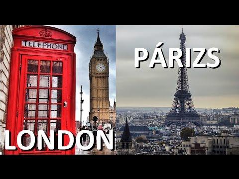 London Párizs 2015