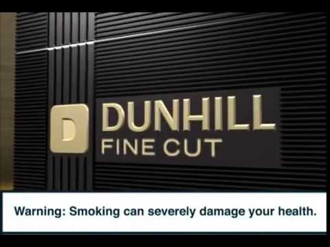 Dunhill Fine Cut Commercial   Covert cigarette Advertising   youtube social media