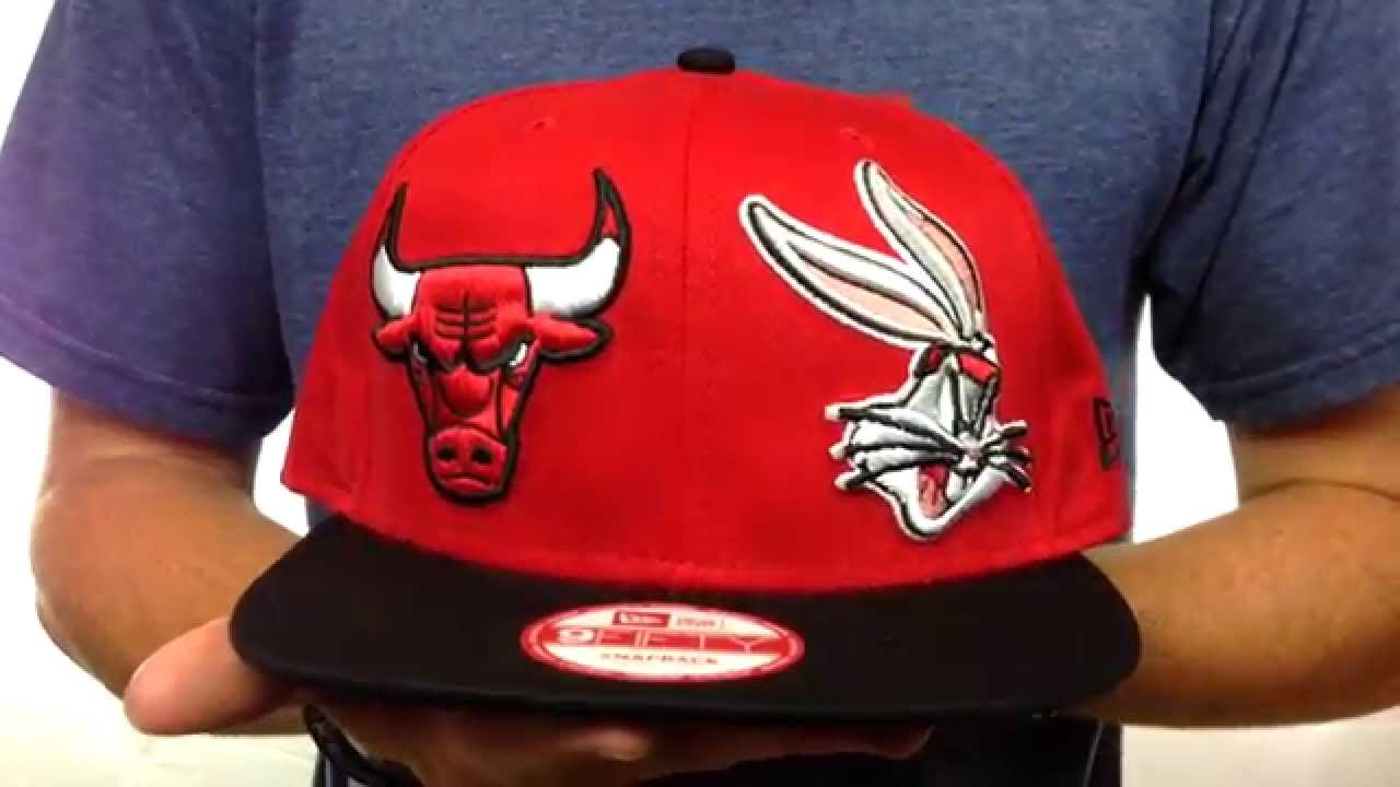 Bulls  DOUBLE-WHAM BUGS BUNNY SNAPBACK  Hat by New Era - YouTube 41f5fd6b45f