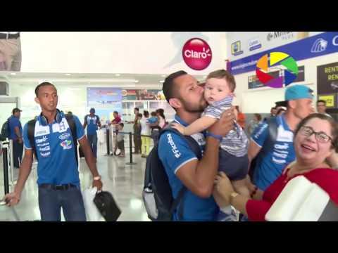 Honduras regresó al país como campeón de la Copa centroamericana