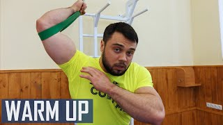 Pre-workout WARM-UP / A.TOROKHTIY (Weightlifting & CrossFit)