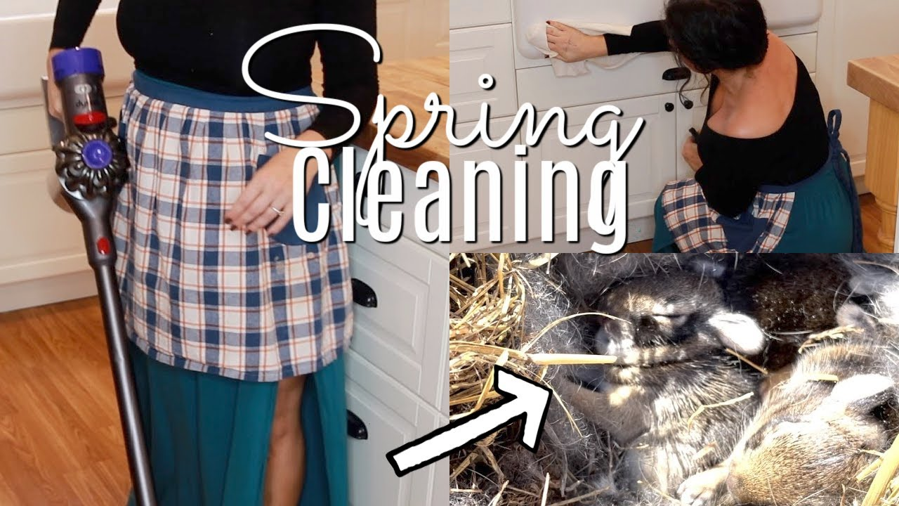 Happy Spring Cleaning 2021|Calming Farmhouse Kitchen 🌺