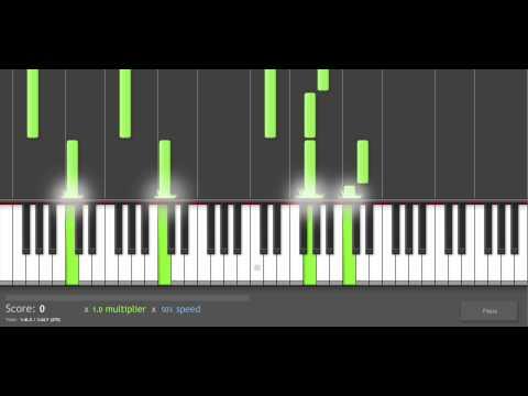 Piano Tutorial: Kingdom Hearts II - Organization XIII