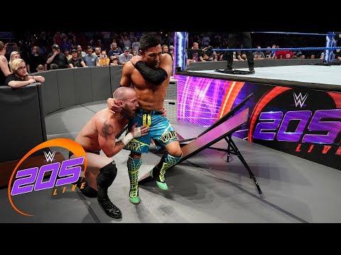 Akira Tozawa vs. Mike Kanellis: WWE 205 Live, May 7, 2019