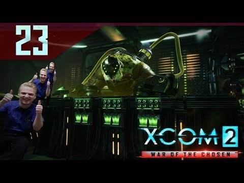 Berserker Queen 4D Chess Moves - XCOM 2 War of the Chosen Gameplay Part 23 Let's Play