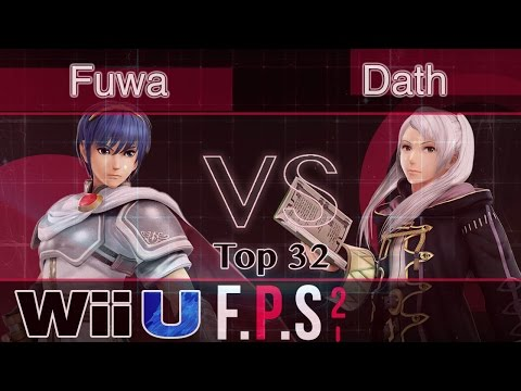 Fuwa (Marth) vs. Dath (Robin) - Wii U Top 48 - FPS2