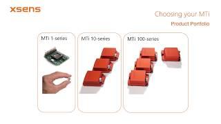 Xsens MTi Tutorial: How to choose your Xsens MTi motion tracker