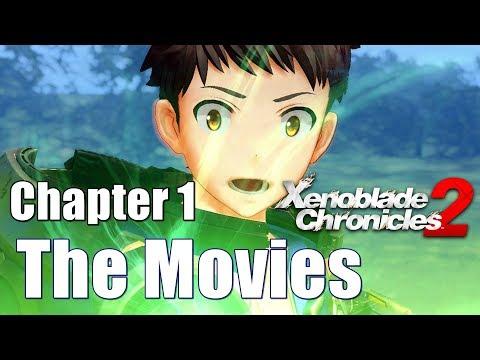 Xenoblade chronicles 2 All Cutscenes Main Story - Chapter 1 Encounter